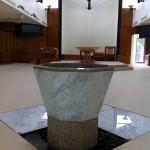 Baptisimal font