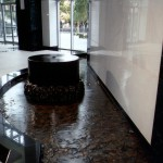 Japanese designed water feature