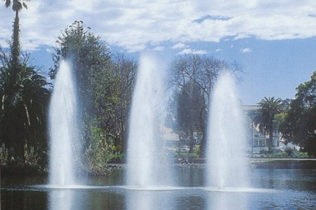 Floating Fountains and Aerators