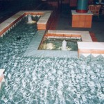 Entrance and foyer fountains and water features