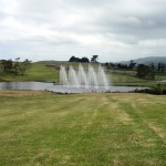 NZ private farm - computerised water feature and fountain