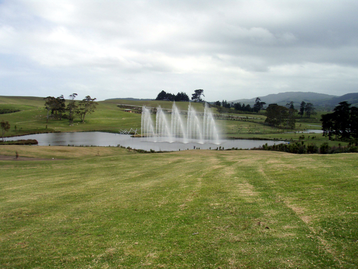 Water fountains auckland - Nz Private Farm Computerised Water Feature And Fountain